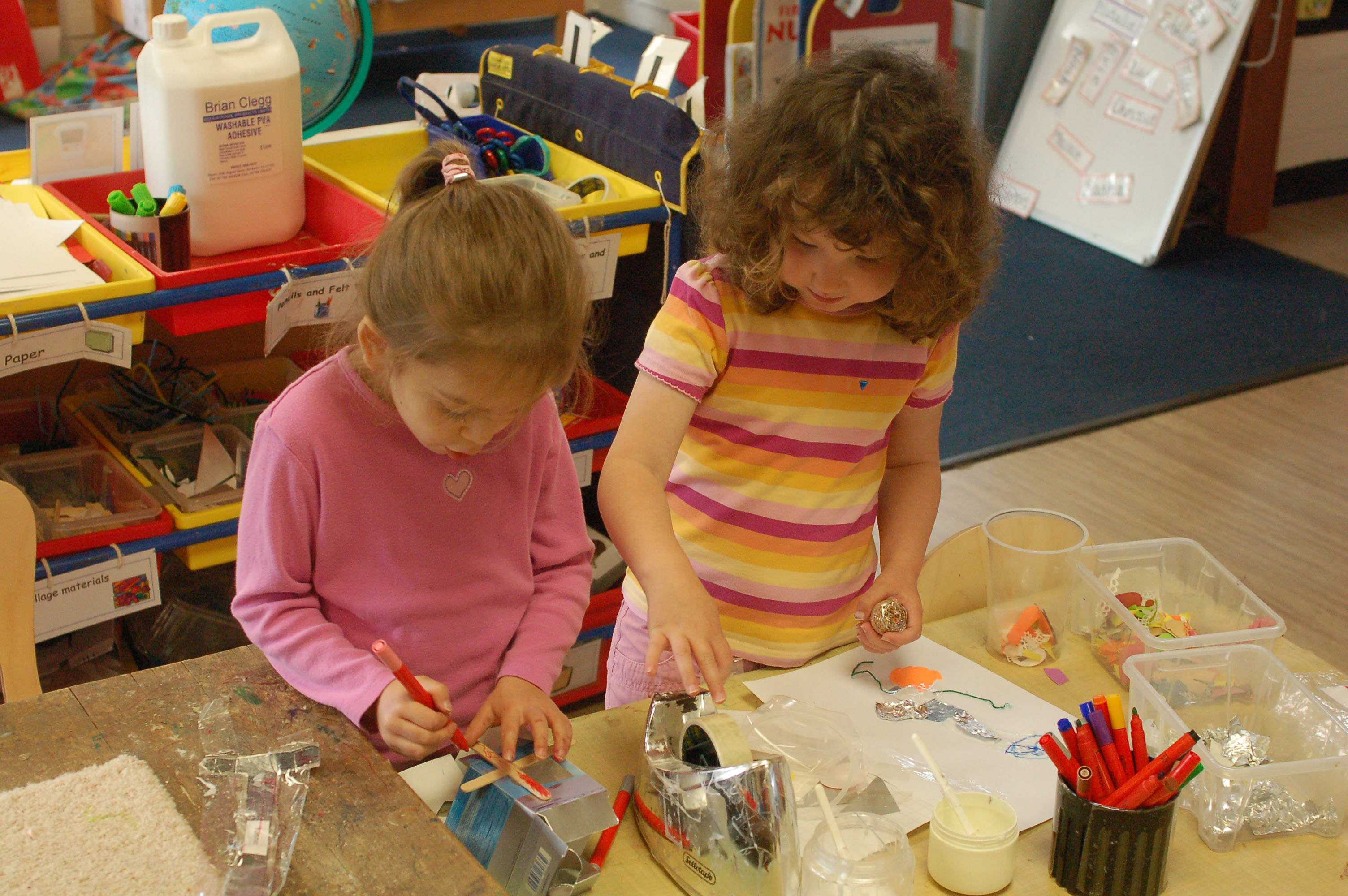 Making and creating