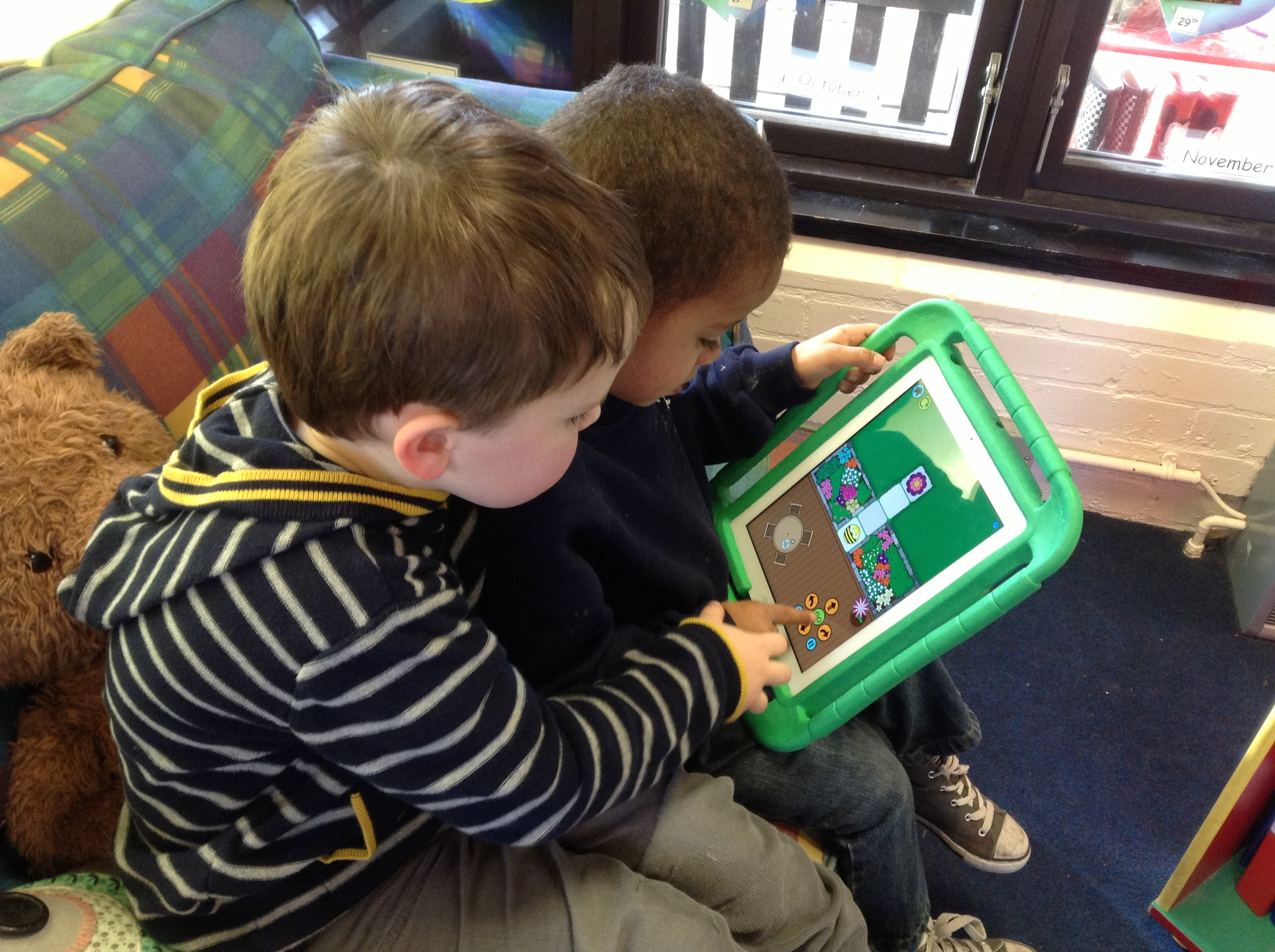 Technology In The Early Years Homerton Nursery